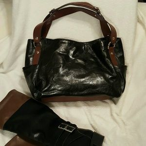 Relic NWOT two tone hand bag.